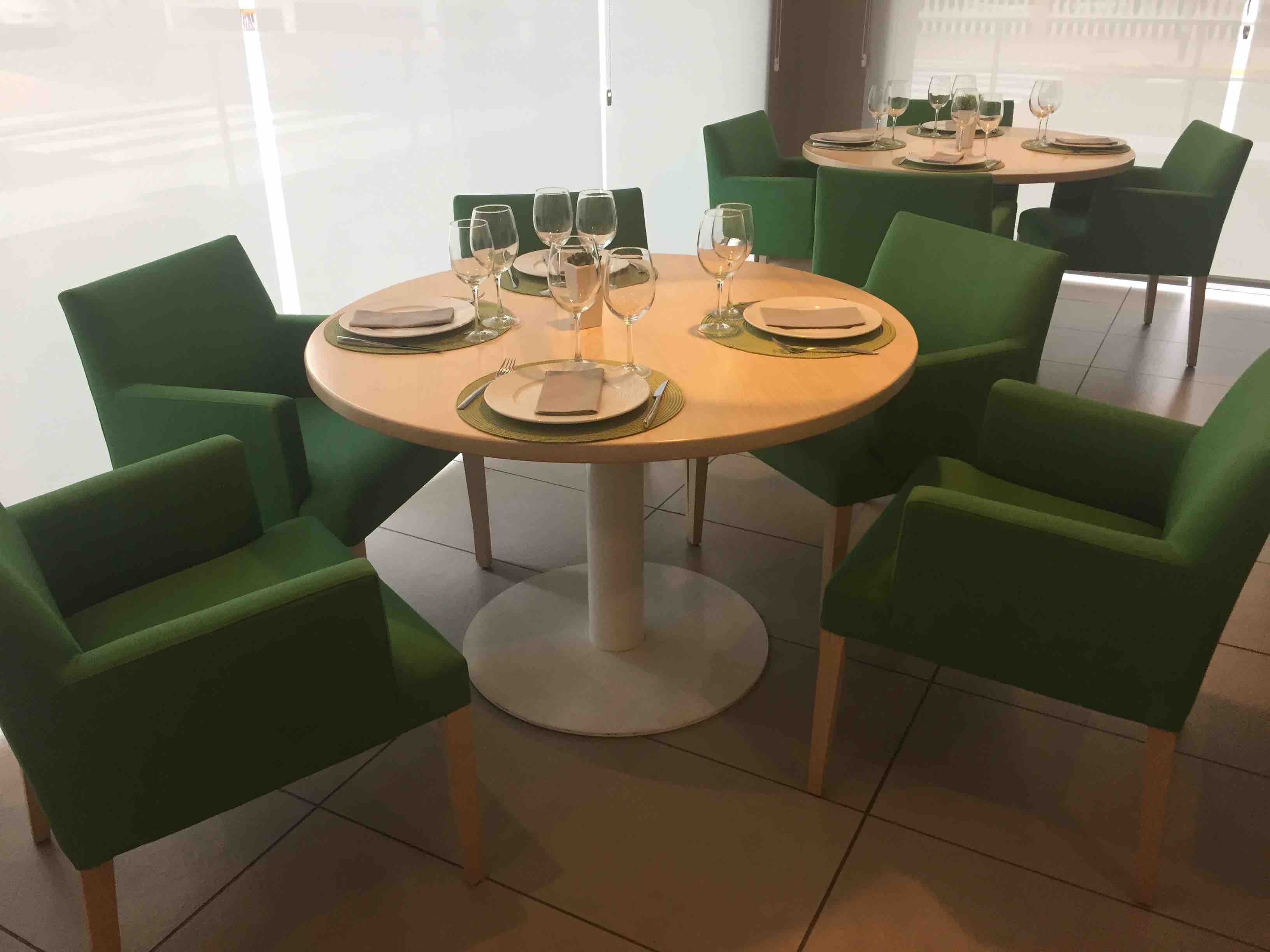Pie de mesa redonda Ginebra. Mobiliario interior para hostelería.